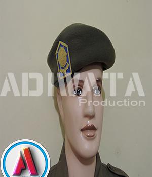 setelan atribut satpol pp baret