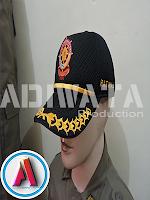 Seragam PDH Pamong Praja topi